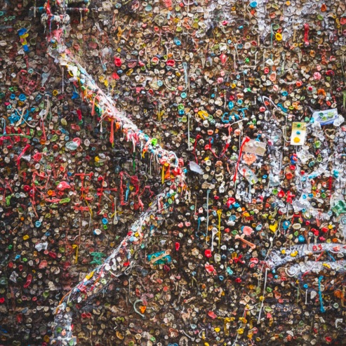 #8 The Wall of Gum