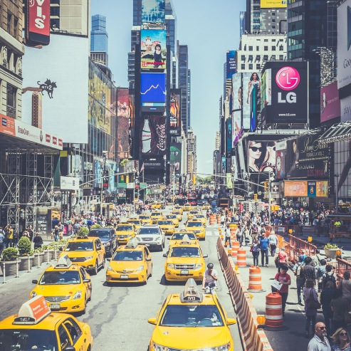 #15 Yellow Cabs Everywhere